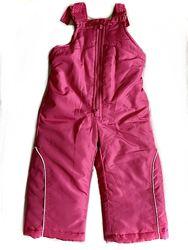 Розовый термо комбинезон полукомбинезон LONDON FOG на девочку 1.5 - 2 года