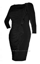 Красивое дорогое черное трикотажное платье США  р S, M, L - Разные  Модели