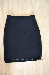 Класическая чёрная юбка р. 44-46