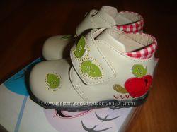 ботиночки на весну-осень для девочки 19р 11, 5-11, 8 см стелька