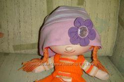 шапочка на весну, осень-46р 2-3 , панамка-кепка на девочку на 1, 5-2г