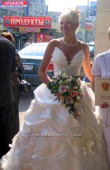 Свадебное платье крутое недорого