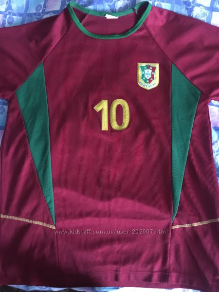 футболка спортивная сборная Португалии