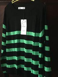 новый яркий свитер ZARA