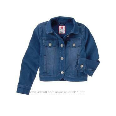 Джинсовая куртка Gymboree на 3-4 года