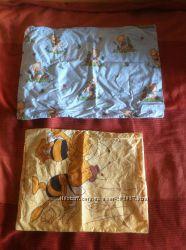 Наволочка желтая на подушку Chicco для люльки или коляски.