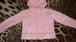 Флисовая кофточка - курточка на девочку 3-4 годика Дания