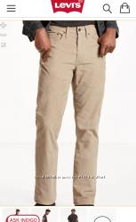 Продам нові Levis 514 вельветові штани. Оригінал. Об&acuteєм 36. рост 34 р