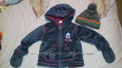 Классная курточка на демисезон от Disney  шапочка в подарок