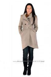 Кашемировое пальто латте