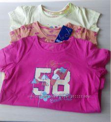 футболки для девочек Lupilu
