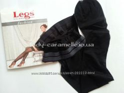 Чулки на силиконовой резинке с розочкой Legs