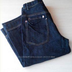 Капри бриджи R Y B dress  джинсовые, темно-синие