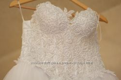 Свадебное платье для дюймовочки