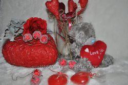 Красивые сердца к Дню Валентина, не дорого