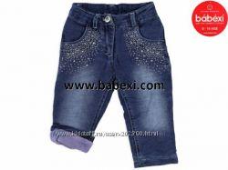 Зимние джинсики на малышку