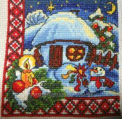 Готова робота. Різдвяна ніч. Мальовнича Україна