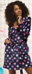 Флисовый халатик кей для девочки подростка