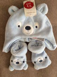 Красивые зимние шапочки NEXT, Mothercare новые, переросли
