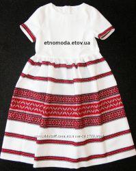 Сукня-вишиванка Вернісаж 9054fd87fbab0
