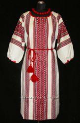 Сукня-вишиванка Рандеву, небілений льон