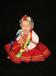 Украинские костюмы для девочек в наличии  и на заказ