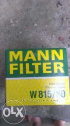 Mann W81580 фильтр масляный двигателя