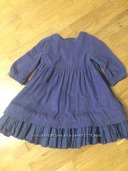 Наше любимое платье Benetton из микровельвета
