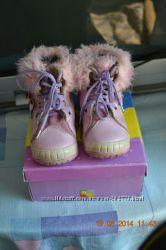 Зимние сапоги для девочки.