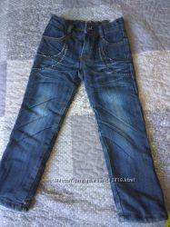 Утепленные джинсы для девочки, бу