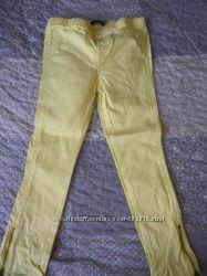 Летние коттоновые брюки для девочки, бу