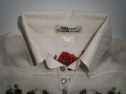 Блузка,  вышиванка, PARASUCO CULT, S-М, Италия