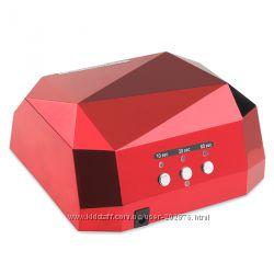 Лампа  для ногтей  36 w , красная , в наличии   комбинированная  LED  CCFL