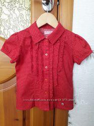 Пролет. Легкая, рубашка, блузка, fun&fun, Италия