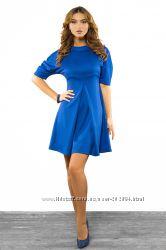 Платье для беременной или девушки с животиком в фиолетовом цвете
