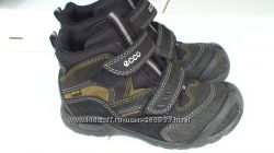 Легкие кожаные ботинки ECCO 30р-19см Gore-Tex