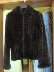 Шубка Курточка вязаная из меха кролика Тысменица