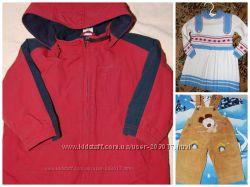 Комплект вещей на малыша до 3 лет комбинезон куртки джинсы