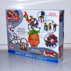 Конструктор подвижный ZOOB 100 деталей BuilderZ Inventor&acutes Kit Оригина