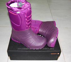 Акция Сапоги зимние сноубутсы Merrell Snow Quest Lite Waterproof Оригинал d8557982e67b2