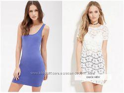 Платья на лето брендовые Forever21 разные модели и размеры