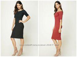 Акция весна Стрейч платье Forever21 оригинал есть разные цвета и размеры