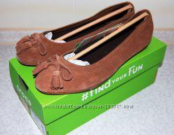 Балетки замшевые Crocs Lina Embellished Suede кроксы