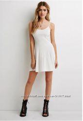 Fashion летнее платье Forever21 хлопок вискоза есть размеры Оригинал