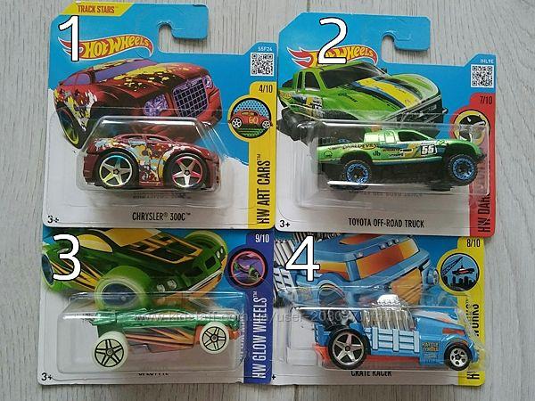 Машинки Hot Wheels поштучно в индивидуальной упаковке Оригинал из США