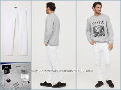 Джинсы мужские брендовые H&M Twill trousers Slim fit Оригинал