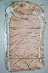 Конверт зимний теплый меховой 75 х 45 см на осень-зиму
