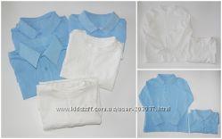 Набор регланов школа George рубашка разм 6-7 оригинал в отличном состоянии