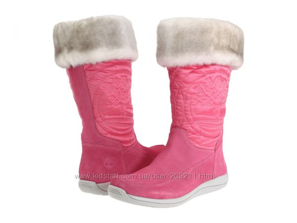 Timberland Kids Hollyberry Tall Pull-On Boot 37 и 38  размер