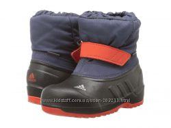 Сноубутсы adidas Outdoor Kids Winterfun Primaloft I 23. 5 размер, 14. 2 см